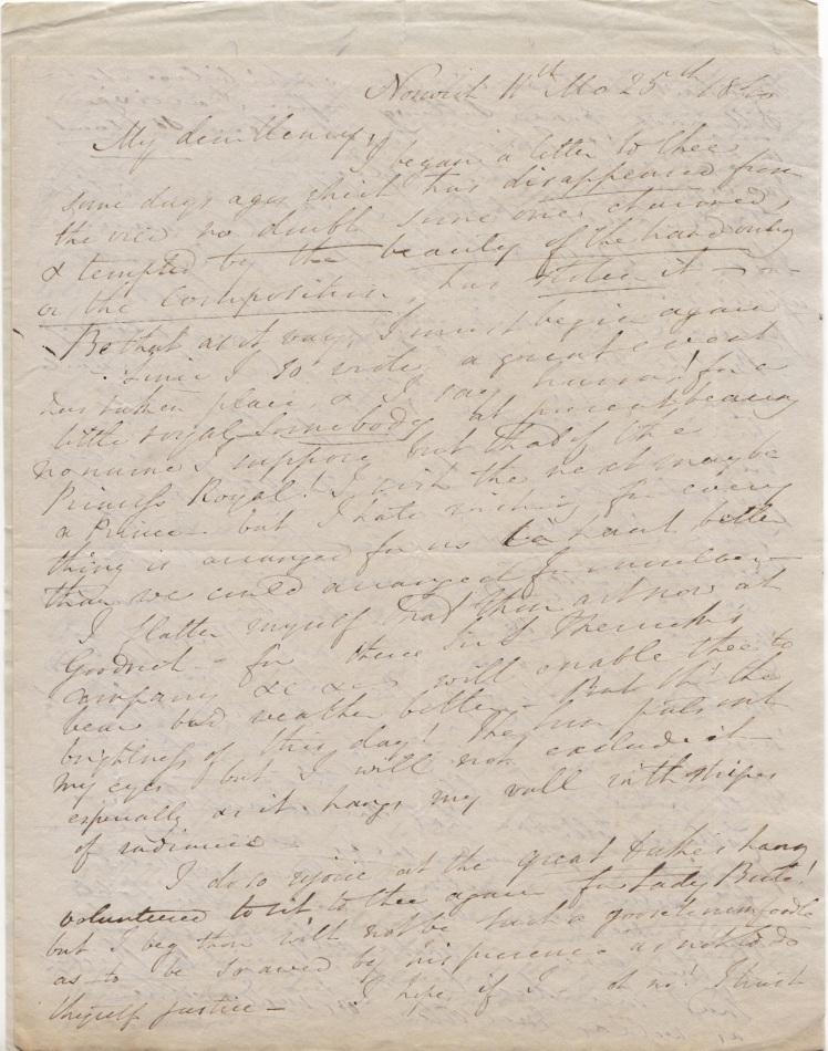 25 Nov 1840 page 1