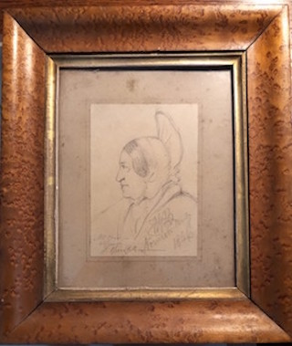 Pencil Portrait 1846 by Butler (1)